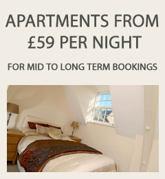 Apartments from £49 Per Night
